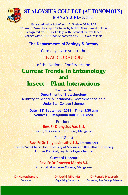 National Conference of Zoology & Botany